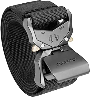 Sponsored Ad - JUKMO Tactical Belt, Military Hiking Rigger 1.5
