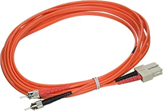 C2G / Cables to Go 37418 SC/ST Duplex 50/125 Multimode Fiber Patch Cable (4 Meter, Orange)