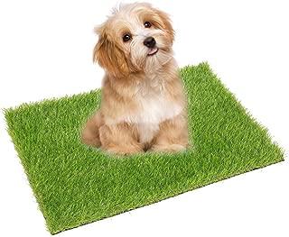 ECO MATRIX Artificial Grass Dog Training Door Mat Pee Pad Fake Grass Doormat Pet Turf Soft Green Lawn Rug Synthetic Grass Carpet