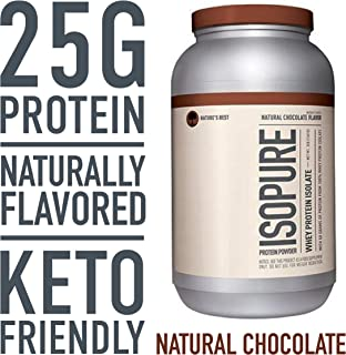 Isopure Whey Protein Isolate - 1.36 kg (Natural Chocolate)