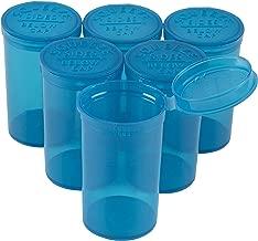 Juvale Empty Prescription Pill Vial Container 19 Dram Bottles (30 Count)
