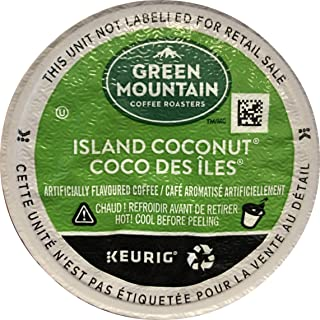 Green Mountain Coffee Roasters Island Coconut, Single-Serve Keurig K-Cup Pod, Flavored..