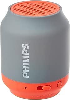Philips BT50G Portable Wireless Bluetooth Speaker, Grey