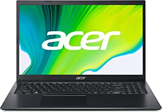 Acer Aspire 5 15.6 inch Laptop(Intel Core i5 11th Generation/8GB/512GB SSD/Windows 10 Home/Intel Iris Xe Graphics),Black A...