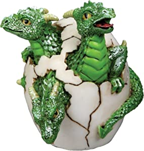 YTC 3 Headed Dragon Hatchling Collectible Figurine Statue Sculpture Figure