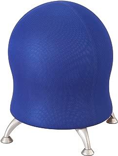Safco Polyester Mesh Zenergy Ball Chair, Blue