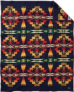 Pendleton Blanket Robe, Tucson Navy, One Size
