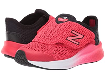 New Balance Kids Fresh Foam Fast (Infant/Toddler) (Black/Energy Red) Boys Shoes