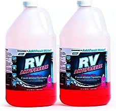 کامکو RV ضد انجماد کنسانتره - 36 اونس کنسانتره 1 گالن ضد یخ، فقط اضافه کردن آب تازه، بزرگ برای استفاده در RVs، قایق، خانه های تعطیلات و استخر - بسته 2