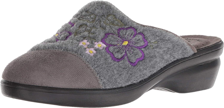 Flexus by Spring Step Women's WOOLIE Slipper, Grey, 42 M Medium EU 10.5-11 US