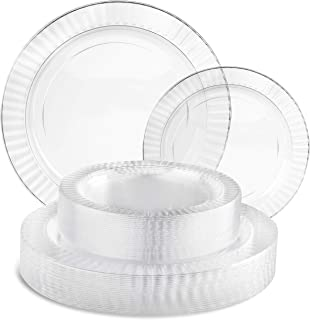 Best black plastic dinner plates Reviews
