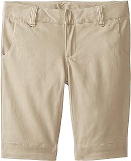 سروال برمودا قصير ضيق من Lee Uniforms، كاكي، 12
