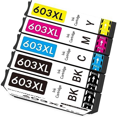 Cartridgeify 603 XL Compatibile con Epson 603 603XL Cartucce d'inchiostro Multipack, per Expression Home XP-2100 XP-2105 XP-3100 XP-3105 XP-4100 XP-4105, Workforce WF-2810 WF-2830 WF-2835 WF-2850