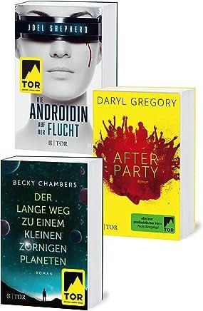 Starke Frauen - Das Fischer Tor Science-Fiction-Bundle: Becky Chambers: Der lange Weg zu einem kleinen, zornigen Planeten / Dary Gregory: Afterparty / ... Androidin - Auf der Flucht (German Edition)