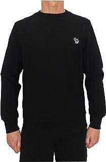 Paul Smith PS by Men's Organic Cotton Zebra Sweatshirt Black