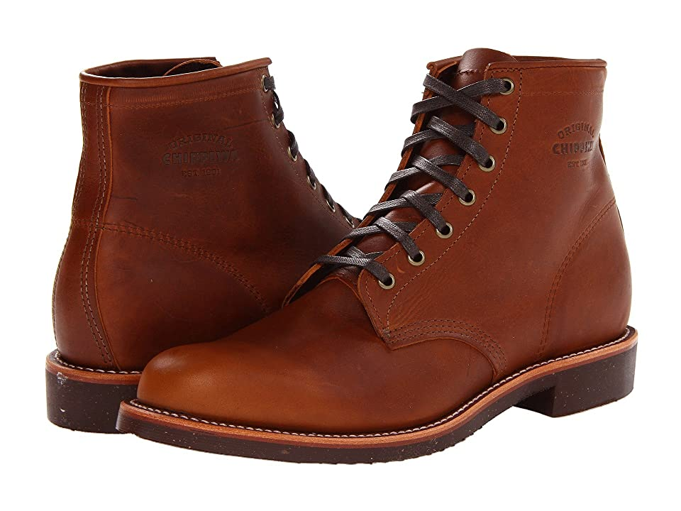 1940s Mens Clothing Chippewa Service Boot Tan Renegade Mens Boots $290.00 AT vintagedancer.com