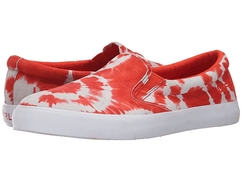 LAUREN Ralph Lauren Cedar (Persimmon Tyedye Leather) Women