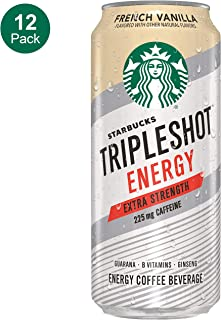Starbucks, Tripleshot, French Vanilla, 15fl oz. cans (12 Pack)