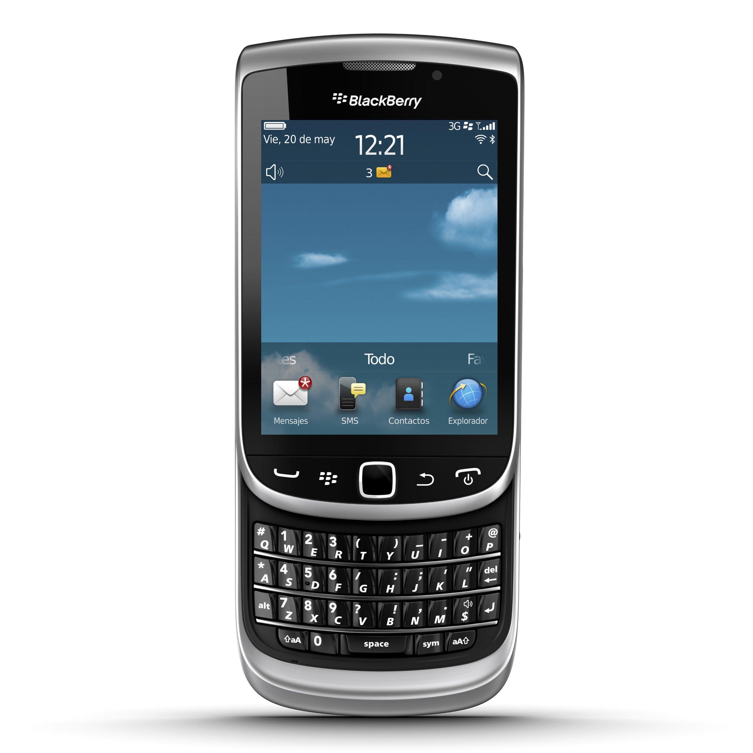 Blackberry Torch 9810 - Smartphone, Pantalla 3.2 Pulgadas, cámara ...