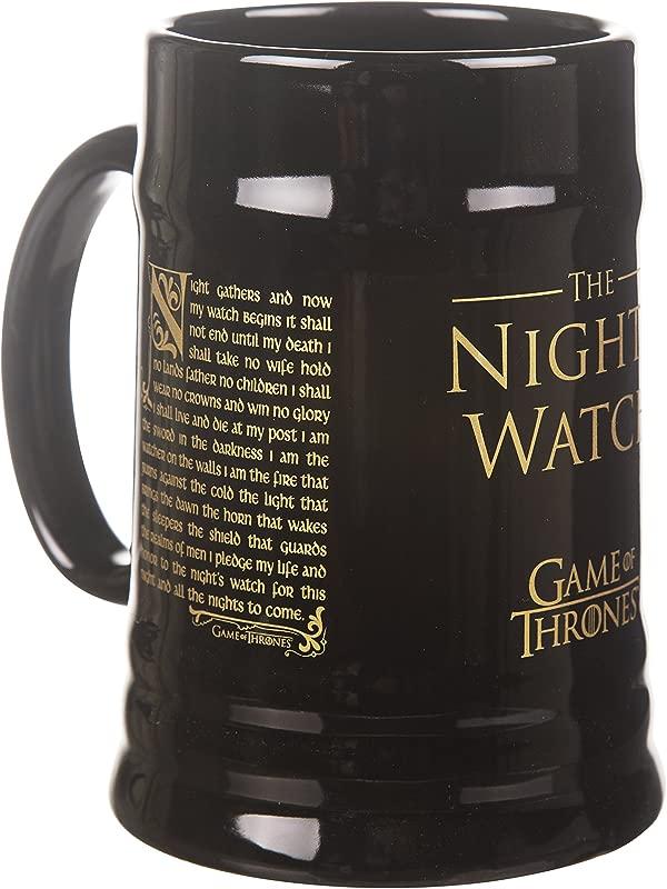 TruffleShuffle Game Of Thrones Nights Watch Ceramic Stein Mug