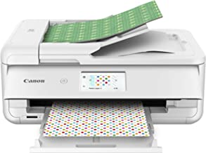 Canon TS9521C Wireless Crafting Printer, 12X12 Printing, White