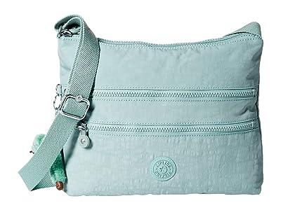 Kipling Alvar Crossbody Bag (Fern Green) Cross Body Handbags