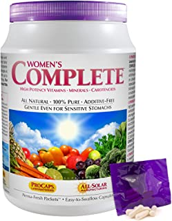 Andrew Lessman Multivitamin - Women's Complete 120 Packets – High Potencies of 30+ Nutrients, Essential Vitamins, Minerals...
