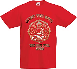 lepni.me Kids T-Shirt Budha Quotes Yoga Meditation Spiritual Positive Vibes