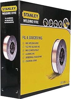 Stanley 460646 - Bobina de hilo de acero (para soldadura MIG, diámetro: 0