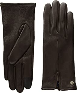 Cole Haan - Deerskin Single Point Gloves