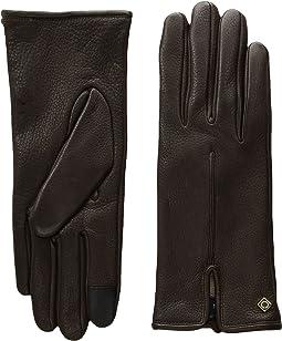 Cole Haan Deerskin Single Point Gloves