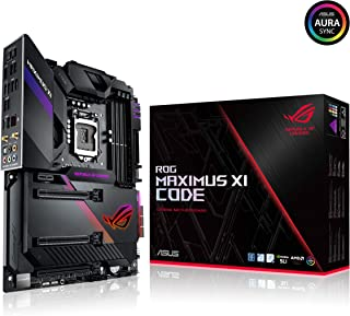 ASUS ROG Maximus XI Code Z390 LGA1151 (Intel 8th and 9th Gen) ATX DDR4 HDMI M.2 USB 3.1 Gen2 Gaming Motherboard