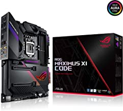 ASUS ROG MAXIMUS XI CODE Intel Z390 LGA1151 DDR4 4400 HDMI Çift M2 USB3.1 AURA RGB eATX 128GB'a kadar ram desteği