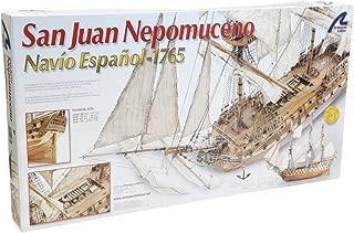 Artesanía Latina 22860 - Maqueta de barco en madera: San Juan Nepomuceno 1/90
