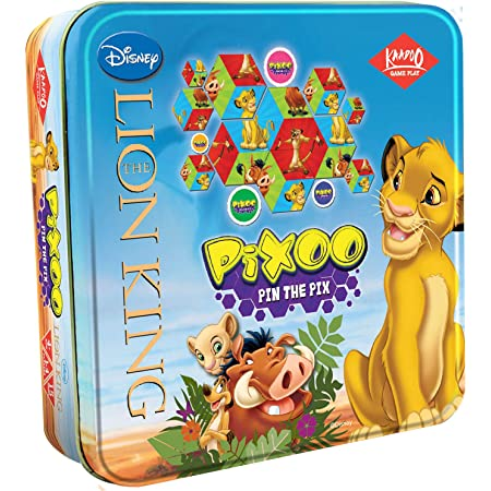 KAADOO Disney Pixoo - The Lion King Puzzle Game for 4+ Years and Above - Kids & Family - Made in India - Disney Gift - Multicolor