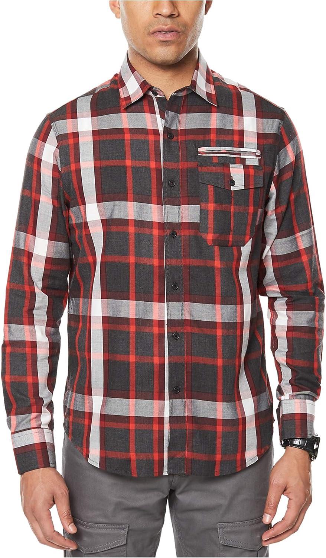 Sean John Long Sleeve Og Double Pocket Shirt