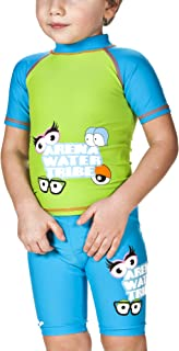 Arena男孩*浴T恤(速干,防紫外线防护 UPF 50+,耐氯/盐水)