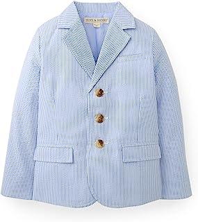 Hope & Henry Boys` Classic Seersucker Suit Jacket