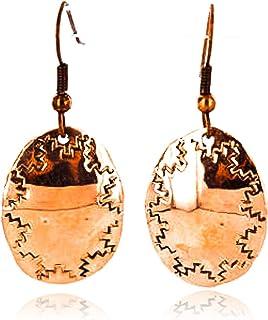130 دولار معتمد نافاجو مختومة باليد أقراط من الأمريكيين الأصليين 390829936456 من صنع لوما سيفا