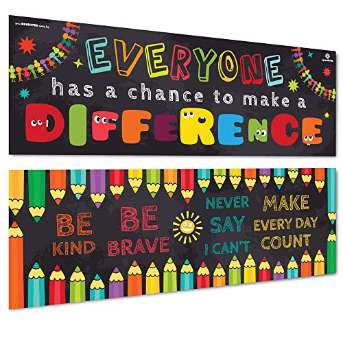 If you never try.. Inspire U Poster Chart Classroom Motivation
