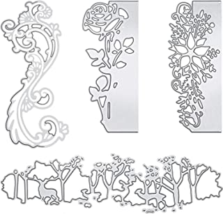 Cutting Dies Metal Cutting Die Stencil Rose Die Cuts for DIY Scrapbooking Card Making