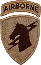 1st Special Operations Command w/Airborne Tab Patch Desert