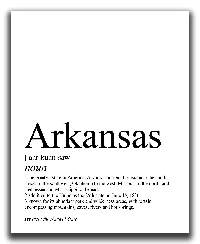 Arkansas Wall Decor - Ultra-Cheap Deals 1 year warranty 8x10