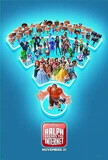 Wreck it Ralph 2 Breaks The Internet C Poster 27x40 Original D/S Movie Poster