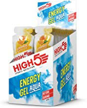 HIGH5 Energy Gel Aqua Liquid Quick Release Energy On The Go from Natural Fruit Juice 20 x 66g Sachets Orange Estimated Price : £ 14,66