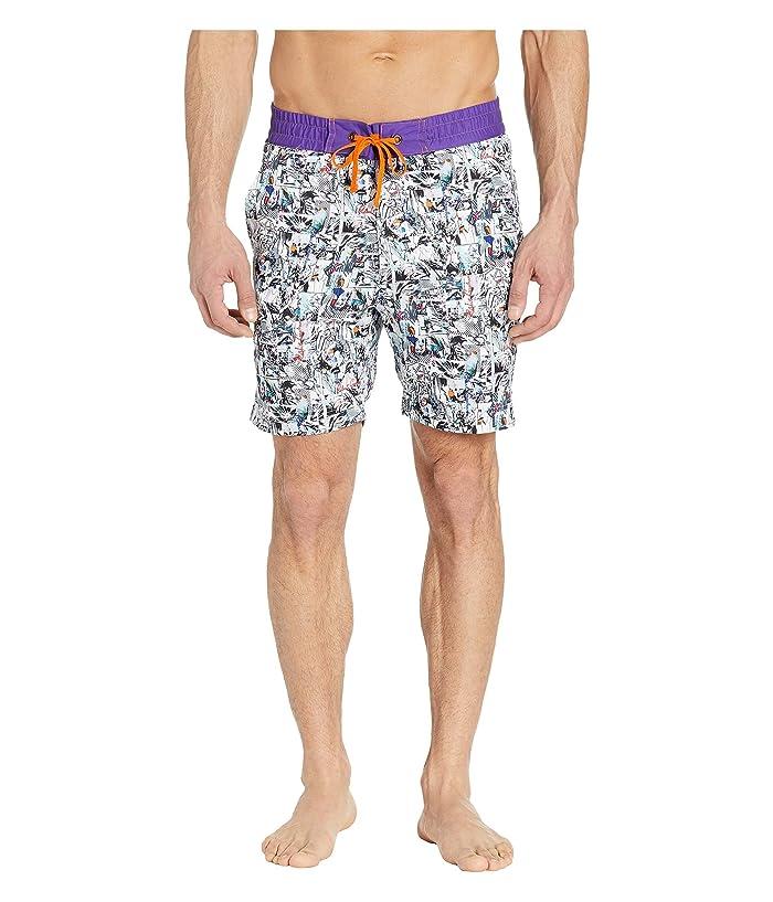 Robert Graham Carras Woven Swim Shorts (Multi) Men