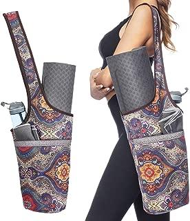 fourre-tout long avec porte-poches Sacs et sacs de yoga /él/égants pour femme Convient /à la plupart des tapis de taille Sac de tapis de yoga avec poche grande taille et poche /à fermeture /éclair
