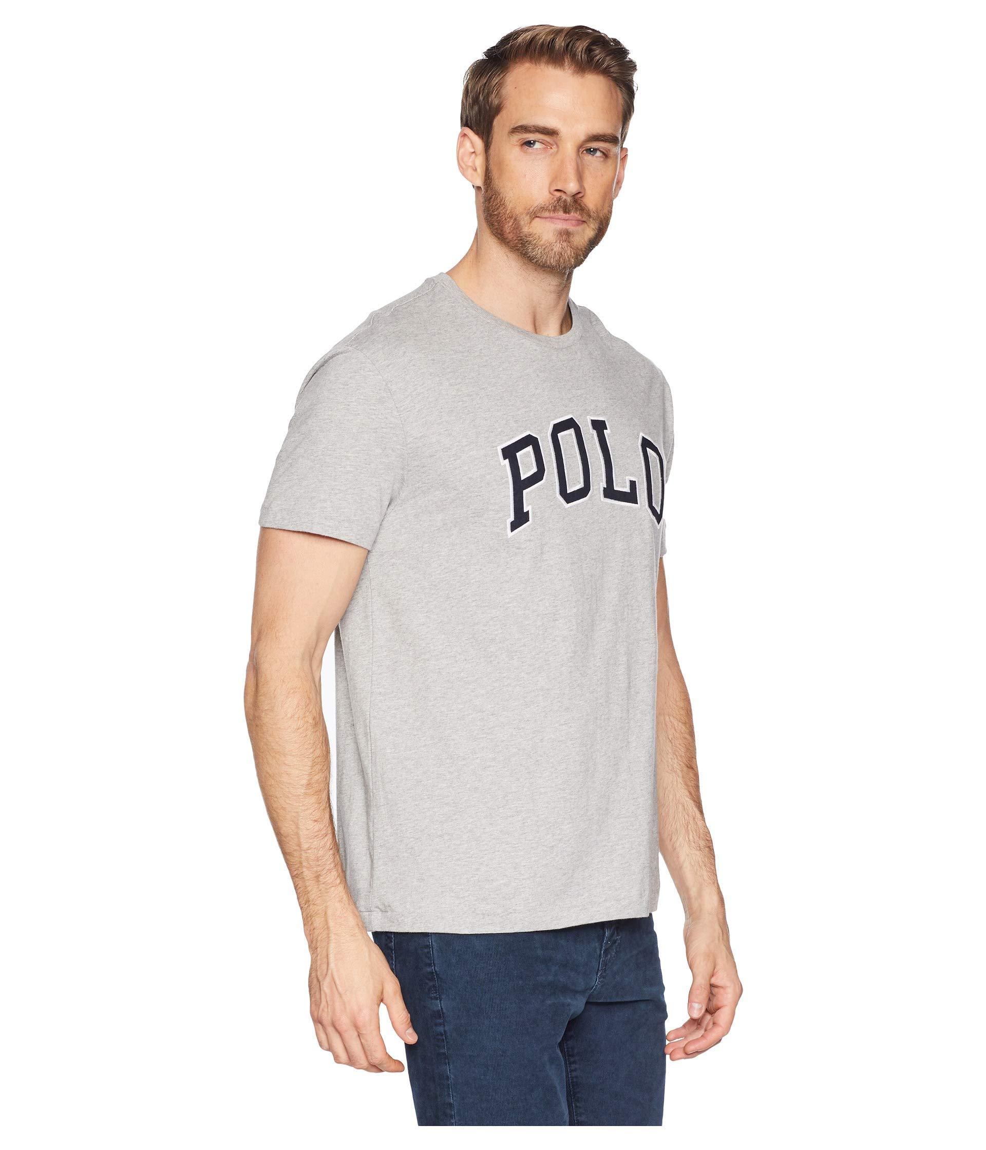 Lauren Andover Ralph Neck Polo Crew Graphic Heather shirt T 4xvqR1wRf