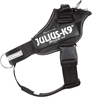 Julius-K9 IDC Powerharness, Dog Harness with Front Control Y-Belt, Size: 1, Black