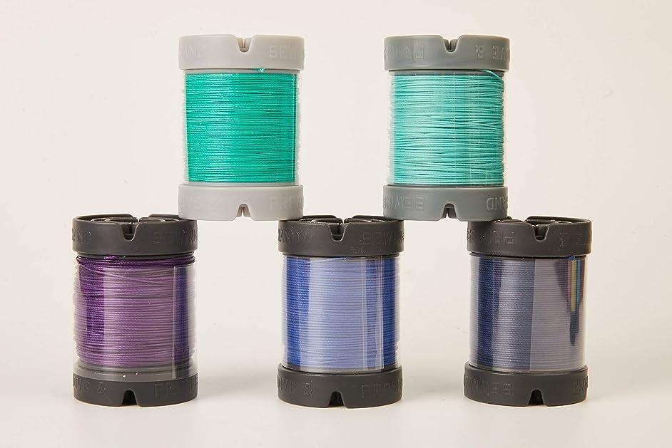 Since Leather Linen Thread for leathercraft M30/0.35MM/150M/Spool (Dark Brown, M30/150M/Spool)